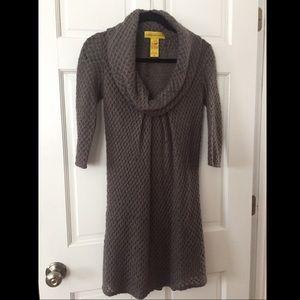 Catherine Malandrino Sweater Dress, Gray, Size 2